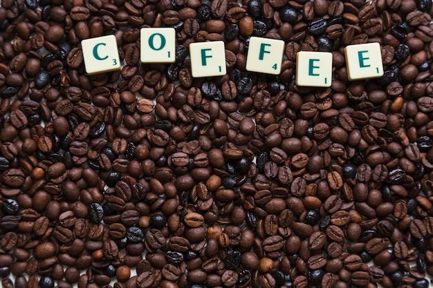 Scrivere sui chicchi di caffè