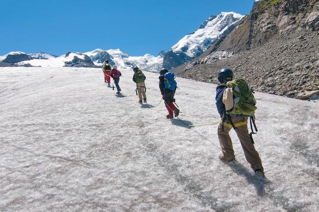 Scuola di alpinismo per bambini