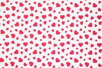 Seamless pattern di cuori