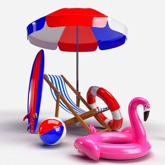 Sedia a sdraio e accessori da spiaggia