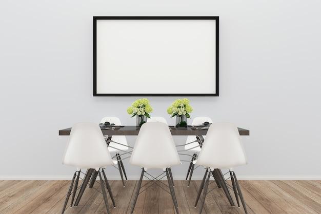 Sedia sala da pranzo pavimento in legno sfondo texture lampada foto cornice vaso di marmo albero