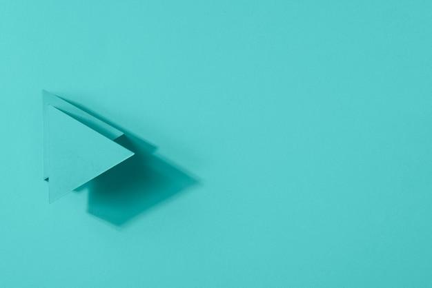 Segni di freccia copia-spazio