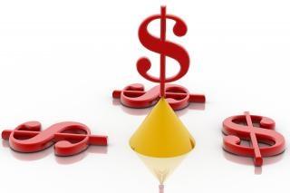 Segno del dollaro, finanziari