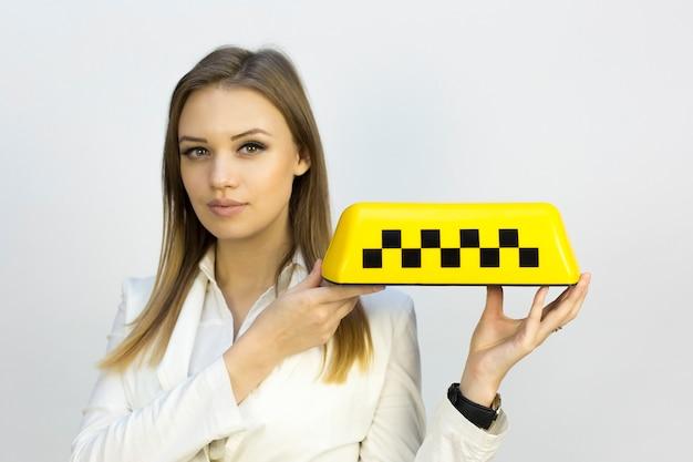 Segno di taxi.