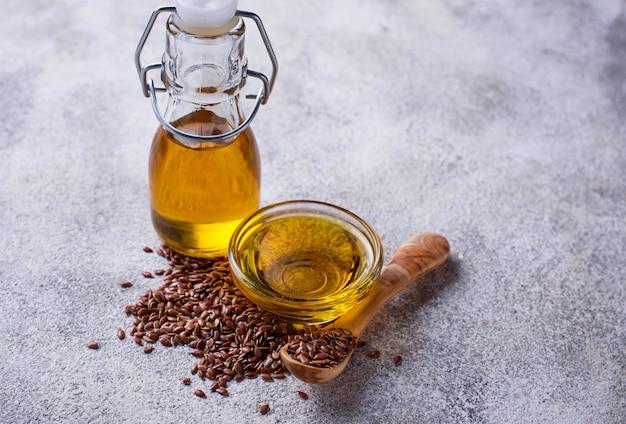 Semi di lino e olio di lino