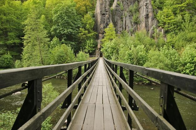 Sentiero su un fiume