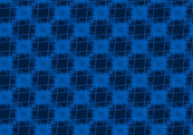 Senza cuciture blu scuro griglia quadrata arte piastrelle parete texture di sfondo.