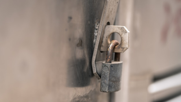 Serratura della chiave della porta
