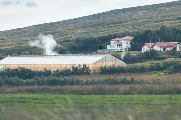 Serre geotermiche in islanda