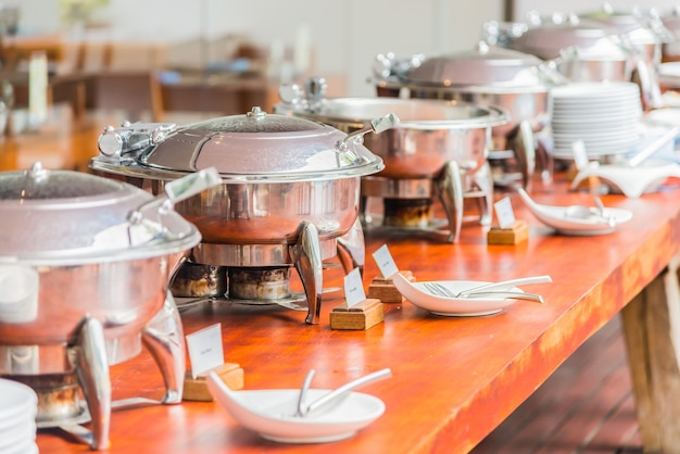 Servizio di lusso a base di carne gourmet