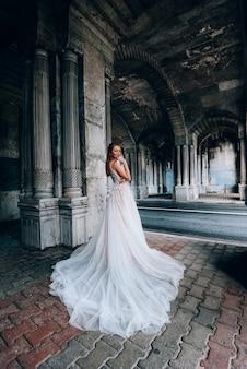 Sessione di matrimonio con la sposa a istanbul