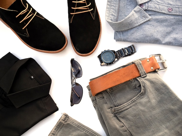 Set di abiti di moda creativa per abbigliamento casual da uomo