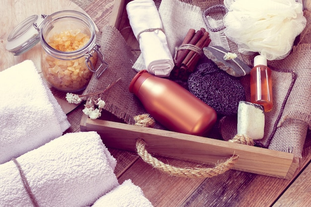 Set di accessori da bagno per spa