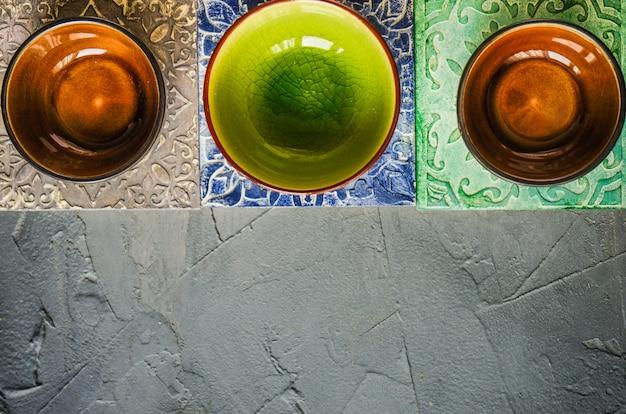 Set di bevande in stile moresco