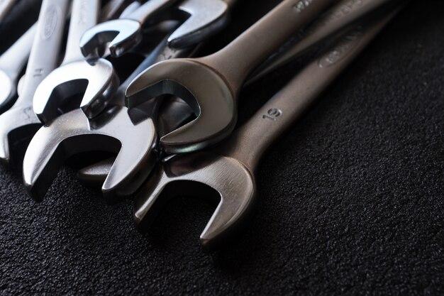 Set di chiave inglese per riparazione auto professionale