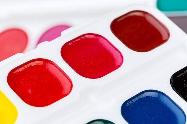 Set di colori ad acquerello