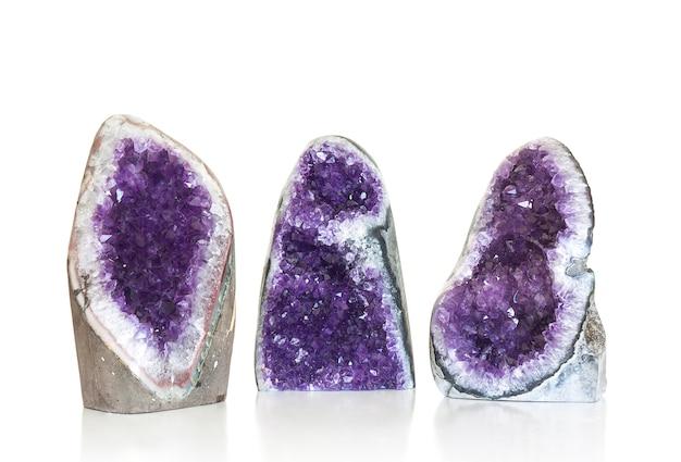 Set di cristallo ametista
