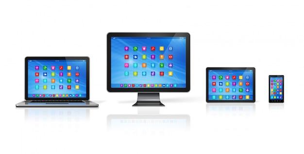 Set di dispositivi per computer
