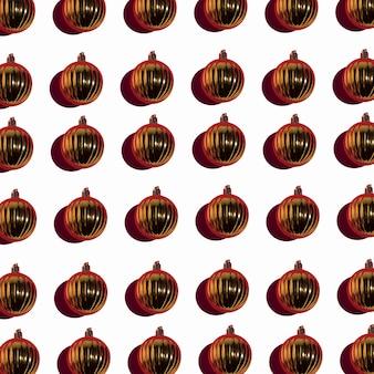 Set di palline di natale oro