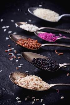Set di riso insolito