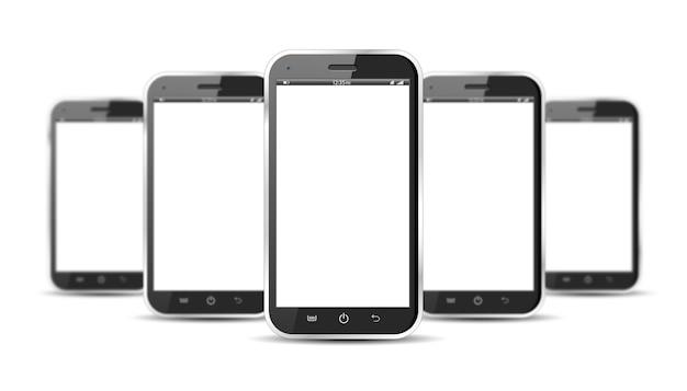 Set di smartphone
