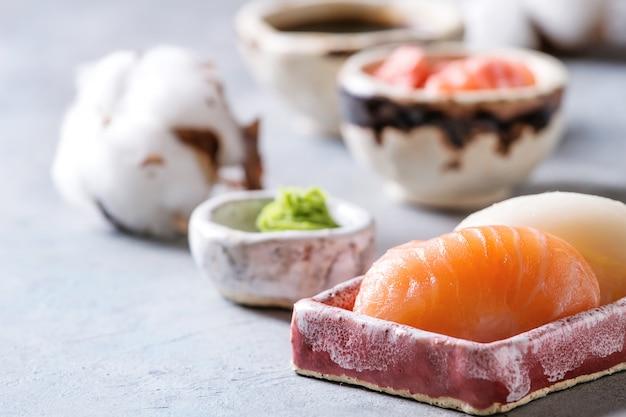 Set di sushi roll