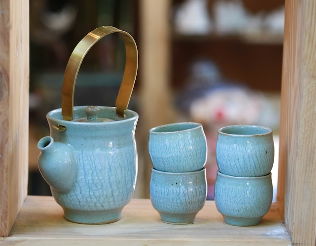 Set di tazze di tè
