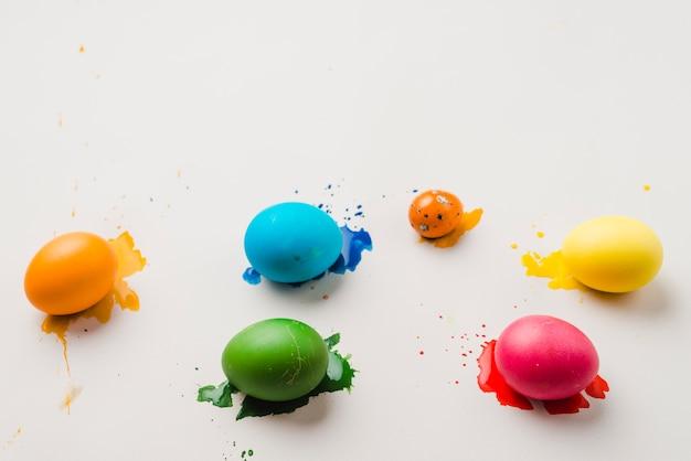 Set di uova di pasqua