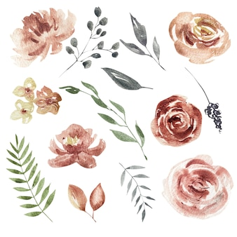 Set floreale primaverile