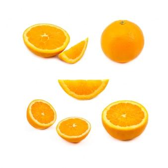 Sezione natura freschezza giallo close-up