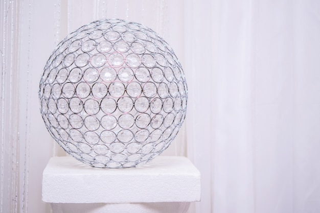 Sfera decor di strass