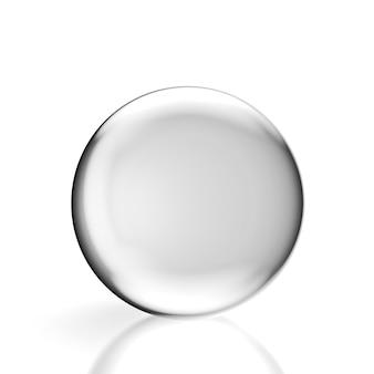 Sfera di cristallo 3d