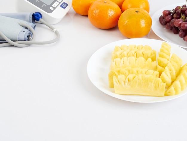 Sfigmomanometro e frutti