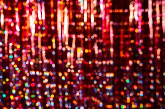 Sfocato sullo sfondo colorato di nuovo anno con spazio di copia