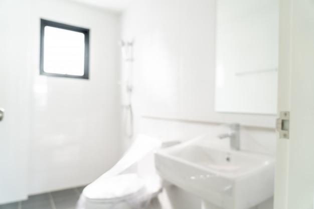 Sfocatura astratta bagno e toilette