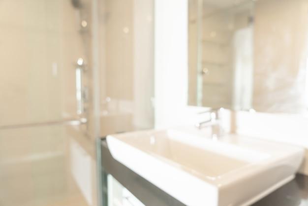 Sfocatura astratta toilette e bagno per