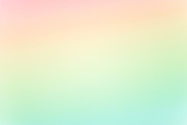 Sfocatura dello sfondo a colori pastello