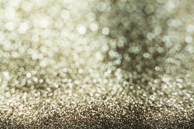 Sfocatura dello sfondo. luci astratte glitters.