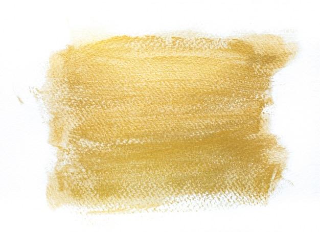 Sfondo a mano con tratti di oro