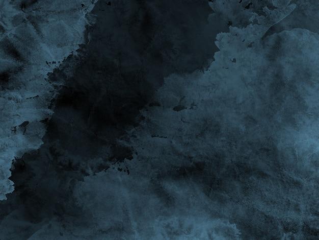 Sfondo acquerello blu scuro