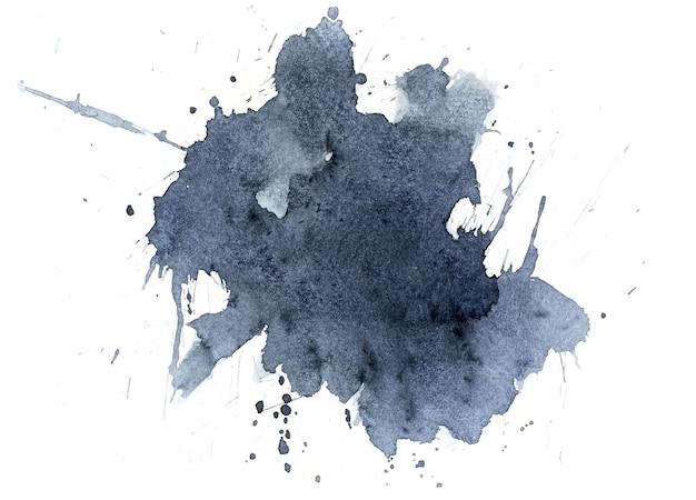 Sfondo acquerello nero