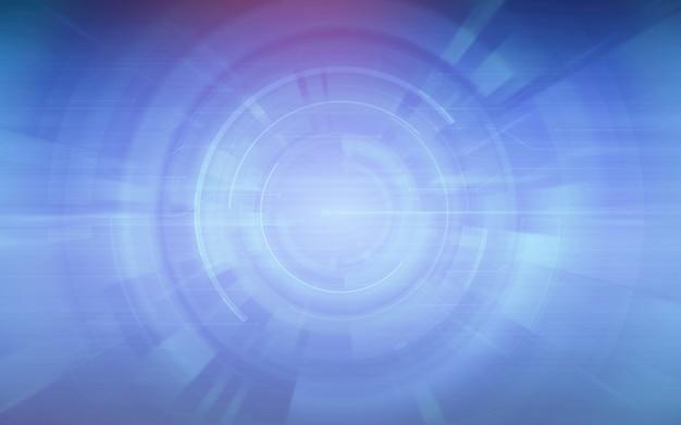 Sfondo astratto blu tecnologia