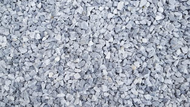 Sfondo astratto con molte piccole pietre