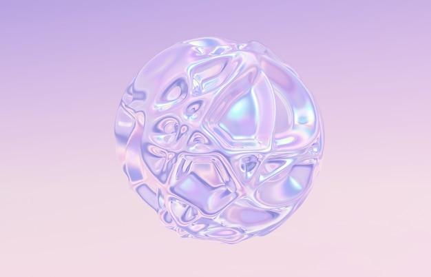 Sfondo astratto cristallo geometrico