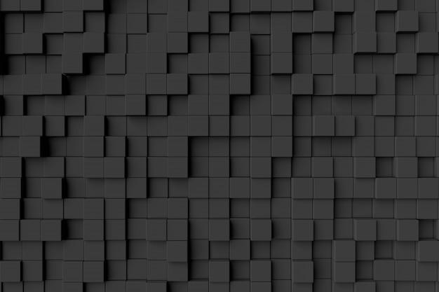 Sfondo astratto di cubi