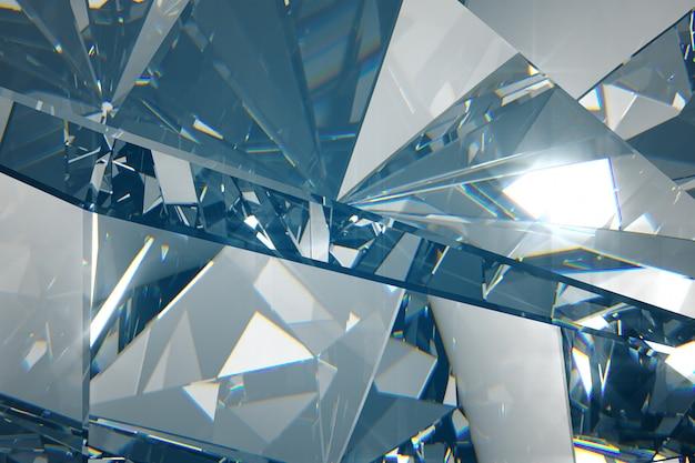 Sfondo astratto di diamanti