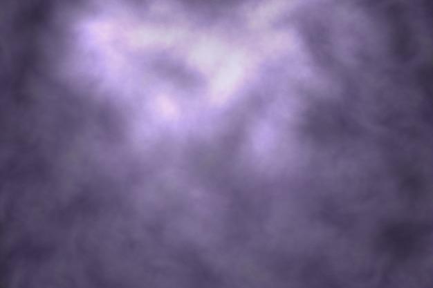 Sfondo astratto di fumo o nebbia su sfondo nero con il concetto di mistero