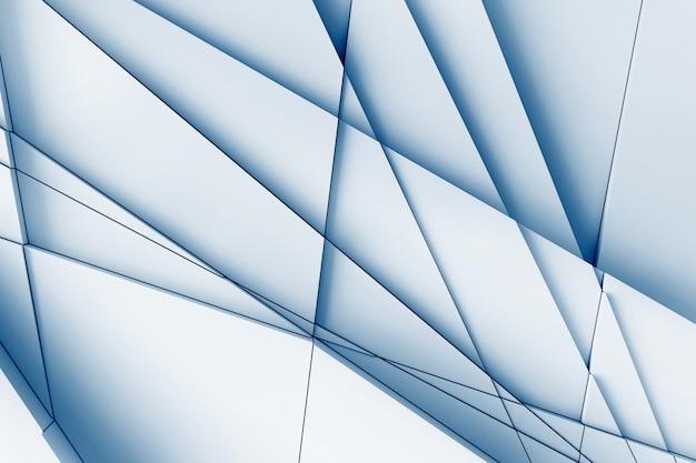 Sfondo astratto di linee rette che dissezionano la superficie in