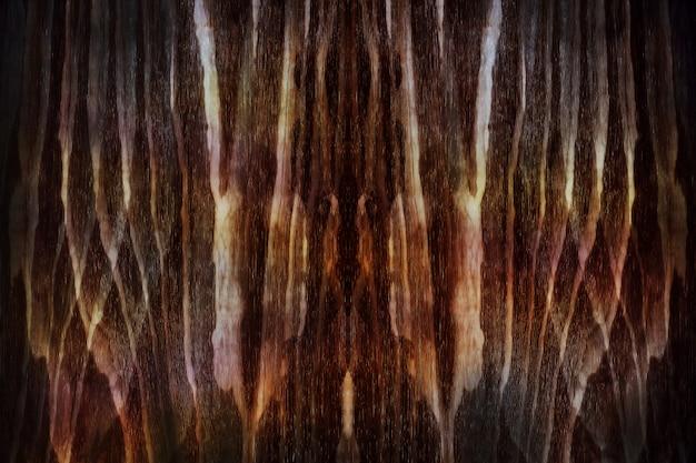 Sfondo astratto di mistero. tonalità di colore marrone scuro