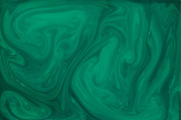 Sfondo astratto fluido verde marmorizzato